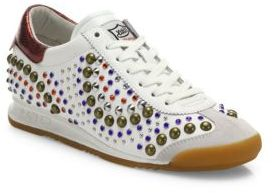 Ash Sound Studded Sneakers $235 thestylecure.com