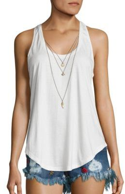 The Kooples Charm Tank Top $135 thestylecure.com