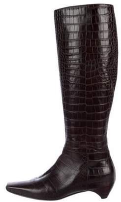 8f18c76569b Alligator Boots - ShopStyle