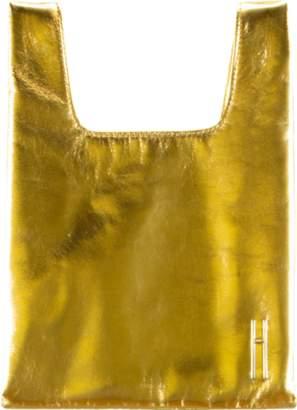 Hayward Luxury Foiled Leather Mini Shopper