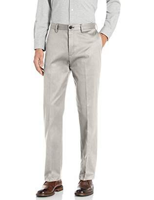 Buttoned Down Amazon Brand Men's Relaxed Fit Flat Front Non-Iron Dress Chino Pant