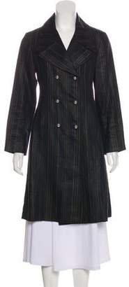 Creatures of the Wind Striped Notch-Lapel Coat