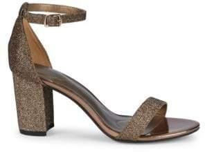 92f7e28cc Bandolino Damory Metallic Stack Heel Sandals