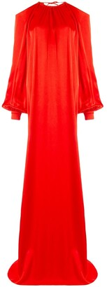 Rosetta Getty cold shoulder gown
