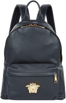Versace Leather Medusa Backpack