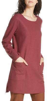 Eileen Fisher Boxy Boiled Wool Tunic