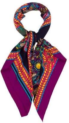 Hermes La Danse Du Cheval Marwari Woven Shawl
