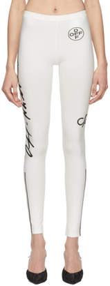Off-White White Diag Leggings