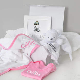 A Type Of Design Personalised Towel, Comforter, Vest, Art Girl Hamper