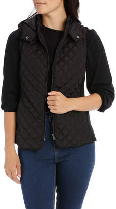 Regatta Rib Side Vest With Hood-Black
