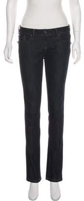 Barbara Bui Low-Rise Straight-Leg Jeans