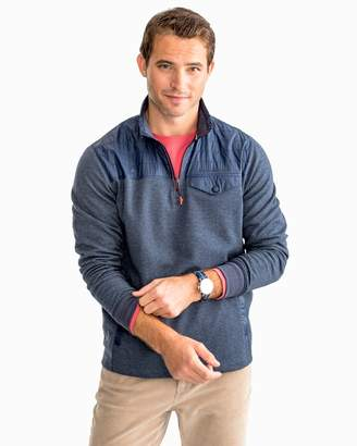 Southern Tide Woodhaven Windproof Fleece Pullover