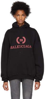 Balenciaga Black BB Hoodie