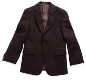 John Varvatos Boy's Two Button Blazer