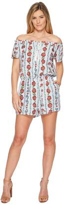 Miss Me Off the Shoulder Floral Jumper Women's Jumpsuit & Rompers One Piece