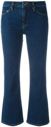 Victoria Beckham Victoria flared cropped jeans