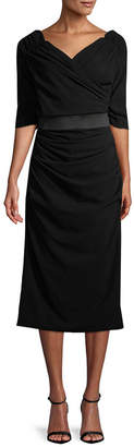 Dolce & Gabbana Midi Wrap Dress