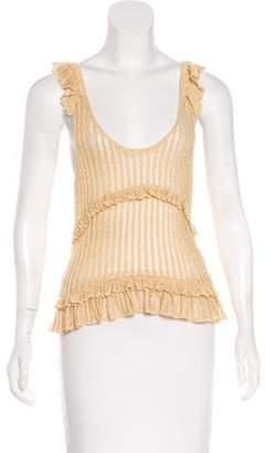 Louis Vuitton Sleeveless Knit Top