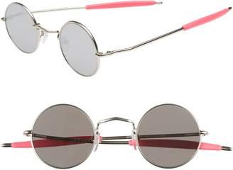 Spitfire Chemistry 42mm Round Mirrored Sunglasses