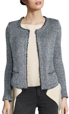 IRO Wallice Metallic Jacket $505 thestylecure.com