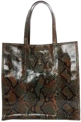 Saint Laurent Downtown Python Handbag