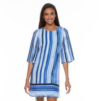 Women's Apt. 9® Strappy Cutout Shift Dress $50 thestylecure.com