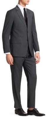 Giorgio Armani Wool Charcoal G Line Suit