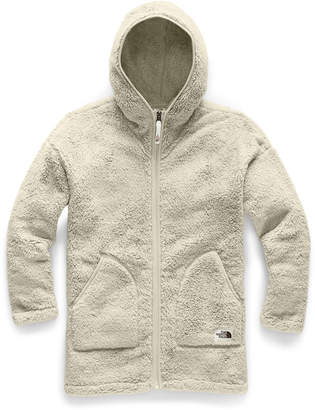 The North Face Girl's Campshire Long Fleece Hooded Jacket, Size XXS-XL