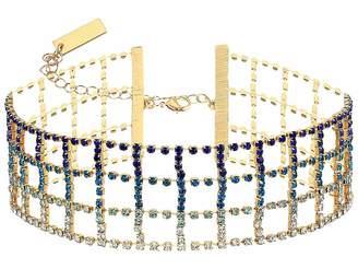 Steve Madden Cage Design Choker Necklace