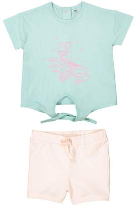 La Redoute COLLECTIONS Printed T-Shirt and Shorts Outfit, 1 Month-3 Years