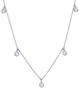 Crislu Shimmering Necklace, 16""