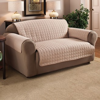 Jeffrey Home Solid Microfiber XL Sofa Furniture Cover Slipcover