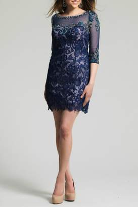 Dave and Johnny Lace Beaded Dress