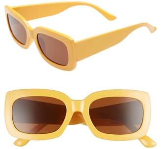 Leith Thick Rectangle Sunglasses