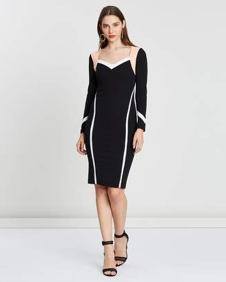 Luxe Tribe Fitted Dress