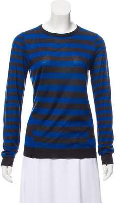 Jason Wu Silk Striped Sweater
