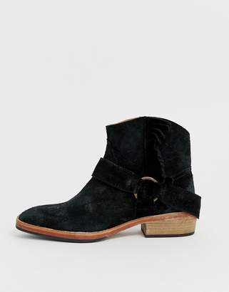Free People bandalier ankle boot