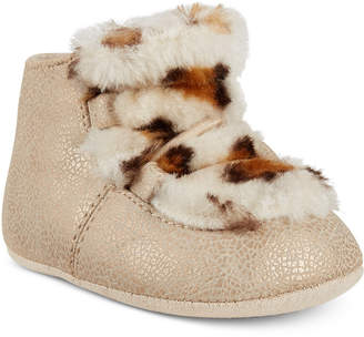 First Impressions Baby Girls Faux-Fur Chukka Boots