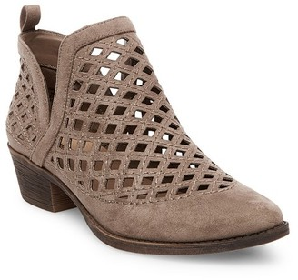 Mossimo Supply Co. Women's Dillion Laser Cut Split Booties - Mossimo Supply Co. $37.99 thestylecure.com