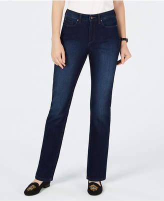 1d3d22b98b7 Charter Club Lexington Curvy Straight-Leg Jeans
