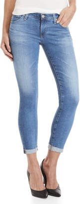Adriano Goldschmied Ag By Rolled Super Skinny Legging Jeans