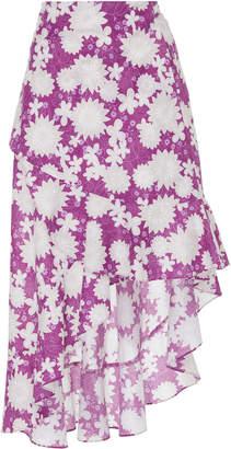 Miguelina Liviona Cotton Wrap Skirt Size: XS