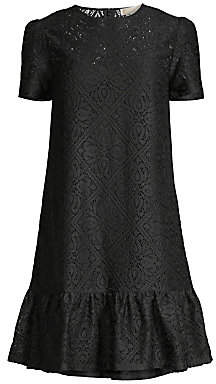 MICHAEL Michael Kors Women's Ruffle Hem Tee Dress