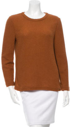 A.P.C. Wool Crew Neck Top $65 thestylecure.com