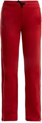 RED Valentino Striped drawstring track pants