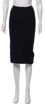 Rick Owens Knit Midi Skirt
