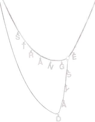 Raf Simons Strange Days Silver Necklace