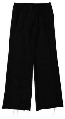 Plein Sud Jeans Mid-Rise Wide-Leg Pant
