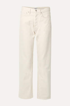 A Gold E AGOLDE - '90s Mid-rise Straight-leg Jeans - White