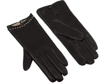 MCM Women's Studded Gloves In Leather